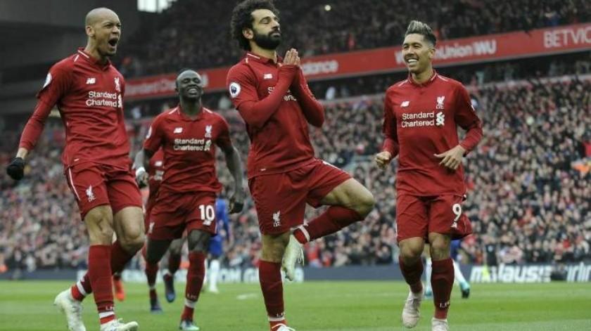 Gol de Salah entrega la victoria a Liverpool
