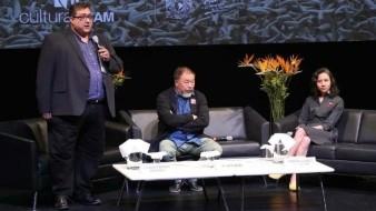 Ai Weiwei convive con mexicanos en el MUAC