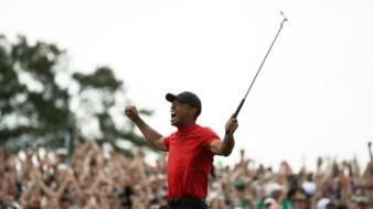 Tiger Woods regresa a la cima; gana el Masters de Augusta