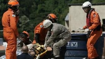 Aumenta a cinco el número de muertos por derrumbe en Río de Janeiro