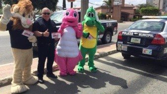 Policía de Tecate inicia campaña