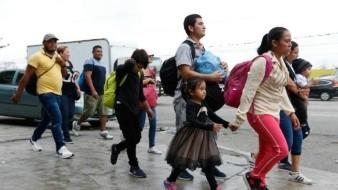 Migrantes entraron a México de manera violenta: INM