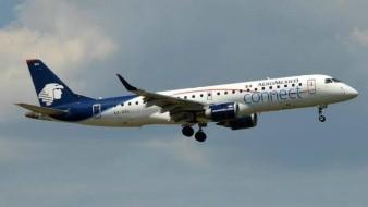 Avión de Aeroméxico sufre incidente al momento de despegar en Chihuahua