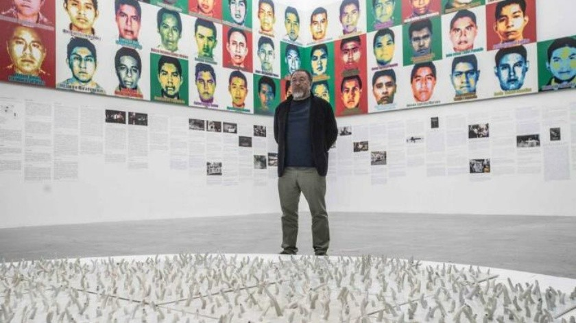 Pregunta Ai Weiwei dónde están los 43 de Ayotzinapa