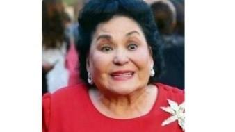 Sube Carmen Salinas foto de cuando la 'Vero' era edecán de 'Chabelo'
