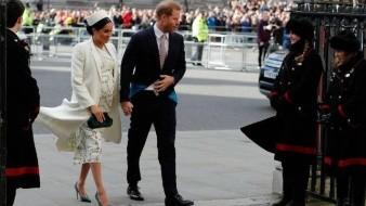 Mantendrán en privado nacimiento de primer hijo de príncipes Harry y Meghan