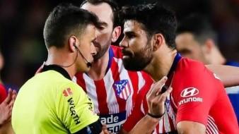 ¡Adiós temporada! Por insultar al árbitro, suspenden 8 partidos a Diego Costa