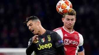 Ronaldo vuelve a la acción con gol pero Ajax saca empate contra Juventus