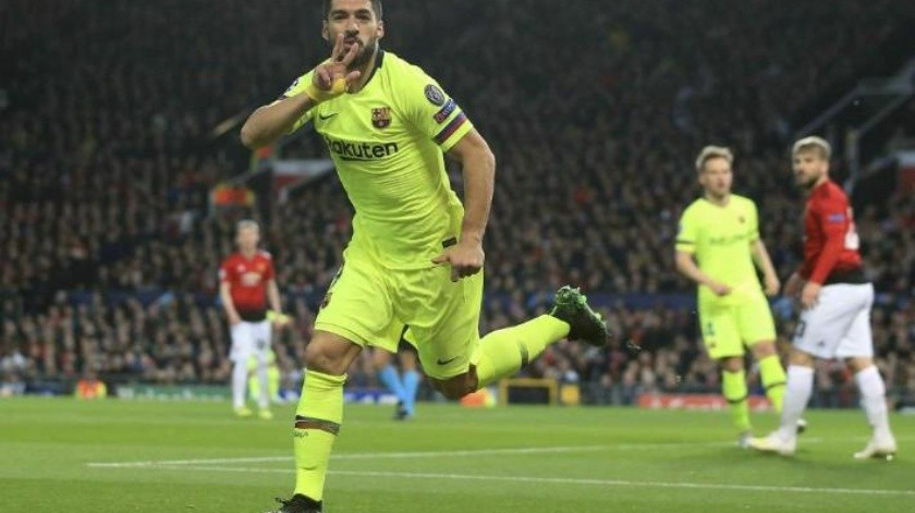 Barcelona vence en el Old Trafford a Man United