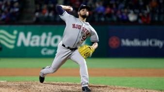 Se apunta Roberto Osuna un salvamento más; Astros vencen a Yanquis