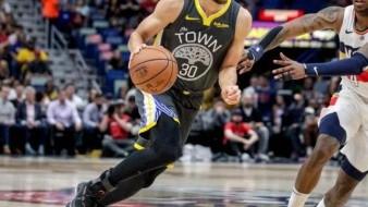 Warriors vencen a Pelicans pero pierden a Stephen Curry