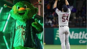 ¡Insólito! Mascota de los Astros habría lesionado a fan; recibe millonaria demanda