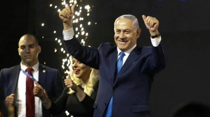 Benjamin Netanyahu se declara ganador de las elecciones en Israel
