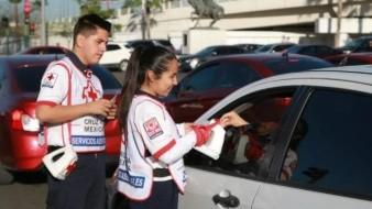 Arranca colecta de la Cruz Roja, la meta es recaudar doce millones de pesos