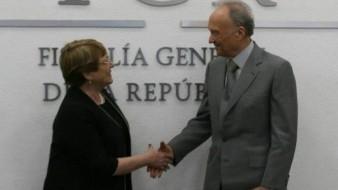 FGR y Bachelet acuerdan trabajo conjunto en caso Iguala