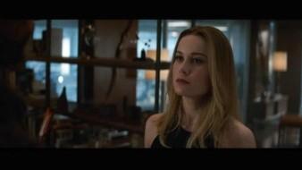 Video: Publican escena completa de Capitana Marvel en 'Avengers: Endgame'