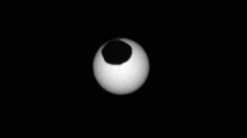 La NASA dio a conocer imágenes de eclipses solares en Marte