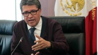 Ricardo Monreal va por reforma del Poder Judicial