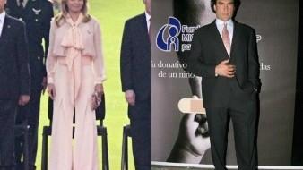¿De romance Angélica Rivera y Eduardo Yáñez?