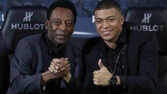 Tras encuentro con Mbappé, 'Pelé' es hospitalizado por una crisis en París