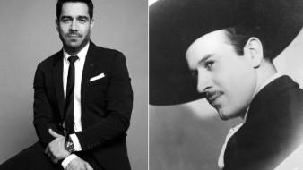 Esta es la primera imagen de Omar Chaparro como Pedro Infante