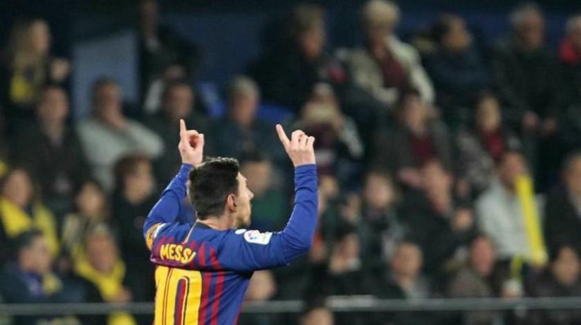 Alcanza Lionel Messi estadística de Cristiano Ronaldo en partidos oficiales
