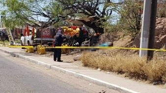 Matan a hombre y lesionan a menor de gravedad en ataque armado en Guaymas