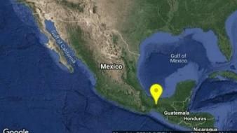 Veracruz registró un sismo de 4.1 grados esta mañana