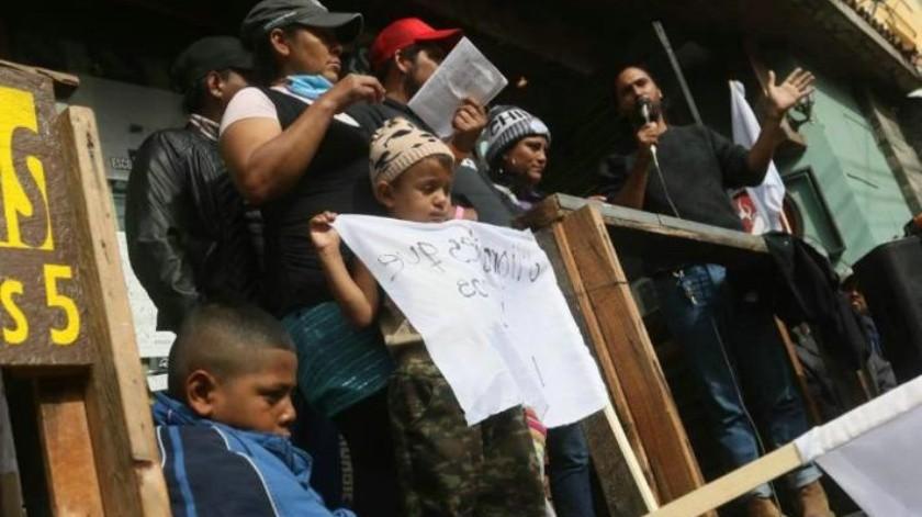 Mujeres migrantes anuncian huelga de hambre en Tijuana