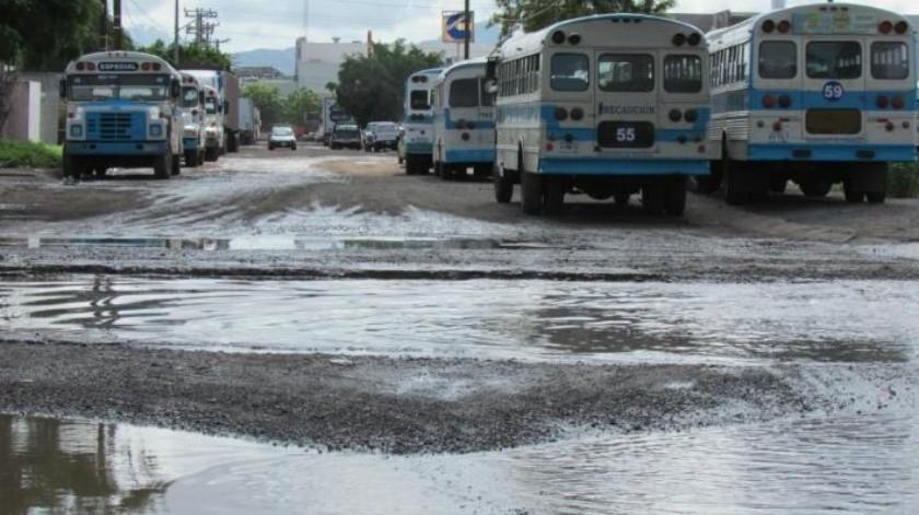 Estado de las calles empeora en PICO por lluvias recientes