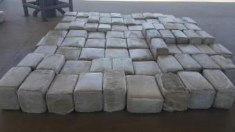 Aseguran más de dos toneladas de mariguana en Querobabi