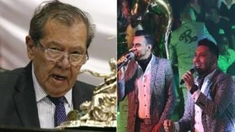 Rechazan diputados a Banda El Recodo para tocar en helipuerto de San Lázaro