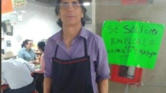 Guadalupe Castañeda, ex jugador del Cruz Azul presume su nuevo trabajo de mesero