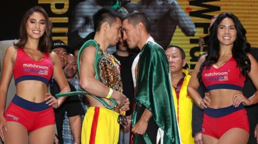 """""""Gallo"""" Estrada busca destronar al campeón Supermosca Srisaket Sor Rungvisai en la pelea de revancha"""