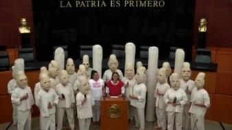 Jesusa Rodríguez presenta iniciativa en Senado para salvar al maíz