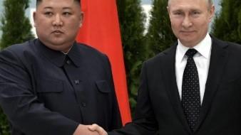 Así fue la primera reunión entre Putin y Kim Jong Un