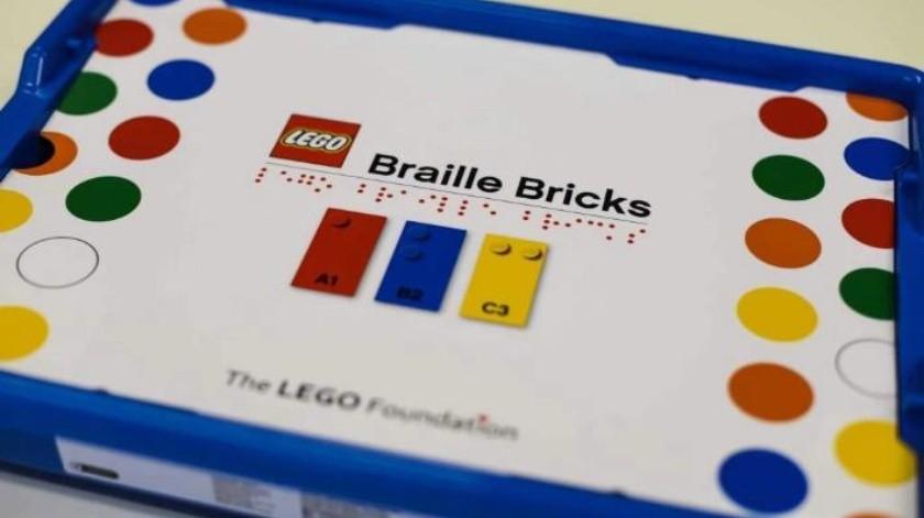 Lego lanzará conjunto de bloques para aprender Braille