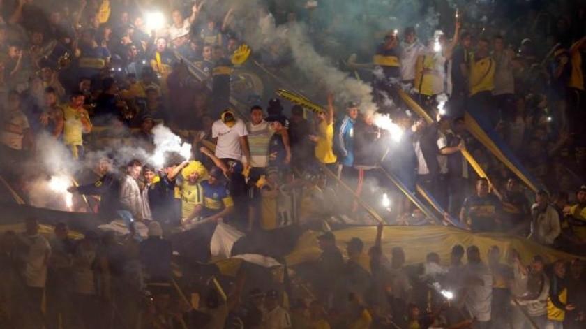 Aficionados del Boca Junior son deportados desde Colombia