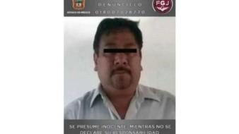 Por extorsión detienen a agente de Ministerio Público en Estado de México