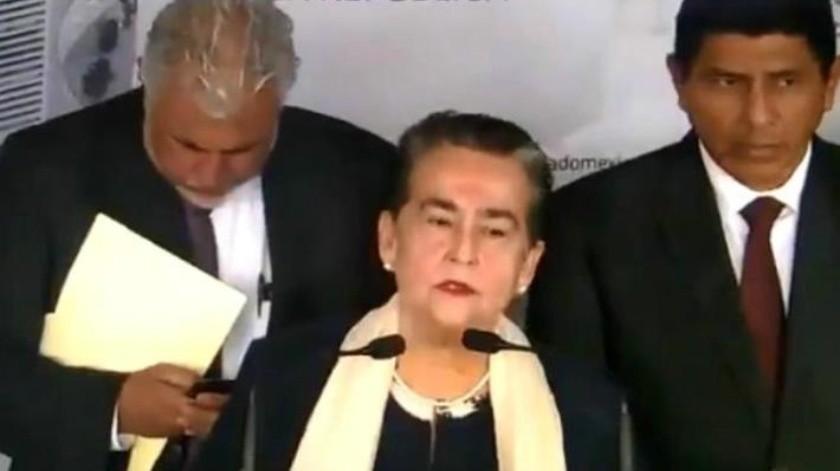 """VIDEO: """"Los medios están magnificando el drama de Minatitlán"""": Senadora de Morena"""