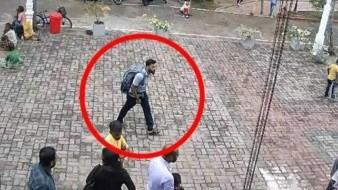 VIDEO: Momento en que uno de los terroristas de Sri Lanka entra a iglesia y comete la masacre; le toca la cabeza a niña
