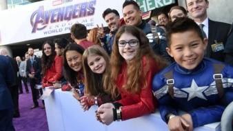 Estreno mundial épico de 'Avengers: Endgame'