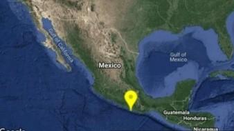 Pinotepa Nacional registra sismo de 4.7 grados