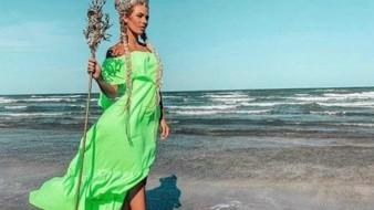 Irina Baeva celebra con controversial canción su coronación como 'Reina del Mar'