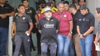 Diego Armando Maradona destaca el segundo tiempo de Dorados