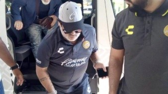 ¡Maradona ya está en Hermosillo!
