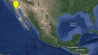 Sismo de 4.9 despierta a Baja California