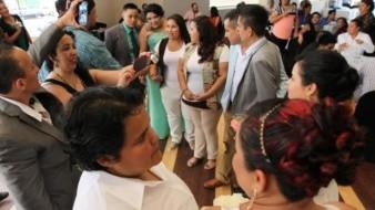 Ayuda la CEDH a 186 parejas 'gay' a que se les respete matrimonio