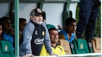 Maradona habla de su futuro en Dorados de Sinaloa