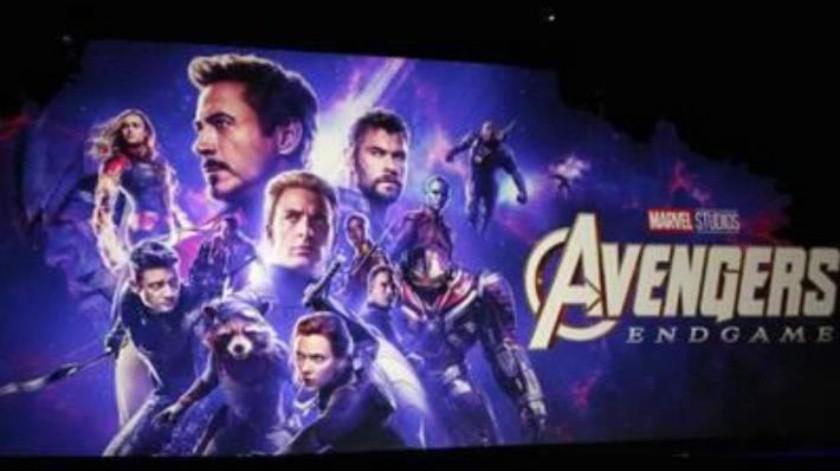 A nivel mundial: Avengers Endgame recauda mil 200 billones en su primer fin de semana